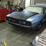 1974 AMC road race Javelin AMX unpainted