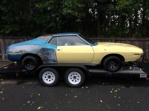 1971 Javelin SST 401 side