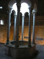 The roman baths (confusingly named the arab baths).