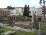 The Campus Martius, now a cat sanctuary in the middle of Rome. Not kidding.