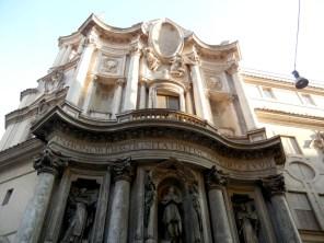 Borromini's church, San Carlo Quattro Fontane