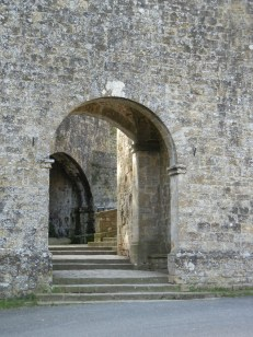 We entered through the arched gate at the lower end of town - the Romans learned much of their arch building skills (later so well used) from their Etruscan predecessors.