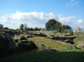 Etruscan ruins are now a city park.