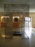 The end of the museum was an interesting modern installation which continued over into the archaeological site