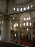 The Eyüp Sultan Mosque.