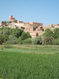 The Kasbah - fortified village or gathering of houses.