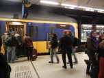 Catch your 15 minute train into Amsterdam Centraal Station.