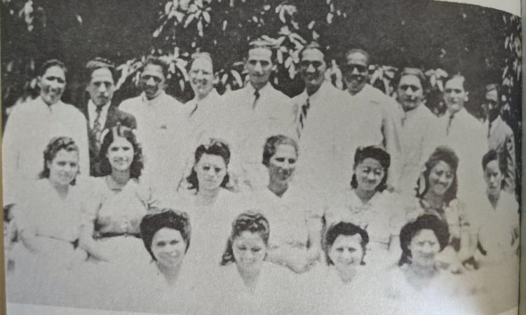 Parte de la Clase de Graduando 1948