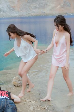 Vietnam Sexy Sisters Lakeside to Rescue Drowning Teenagers 2