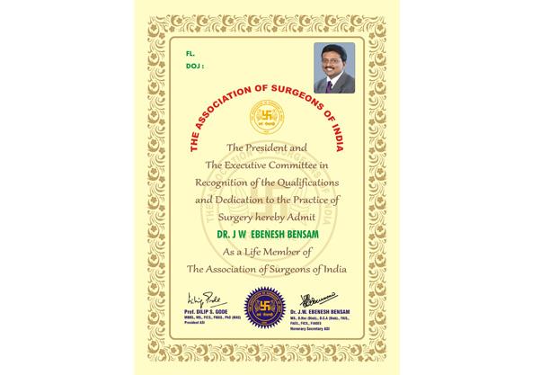 Asi Membership Application