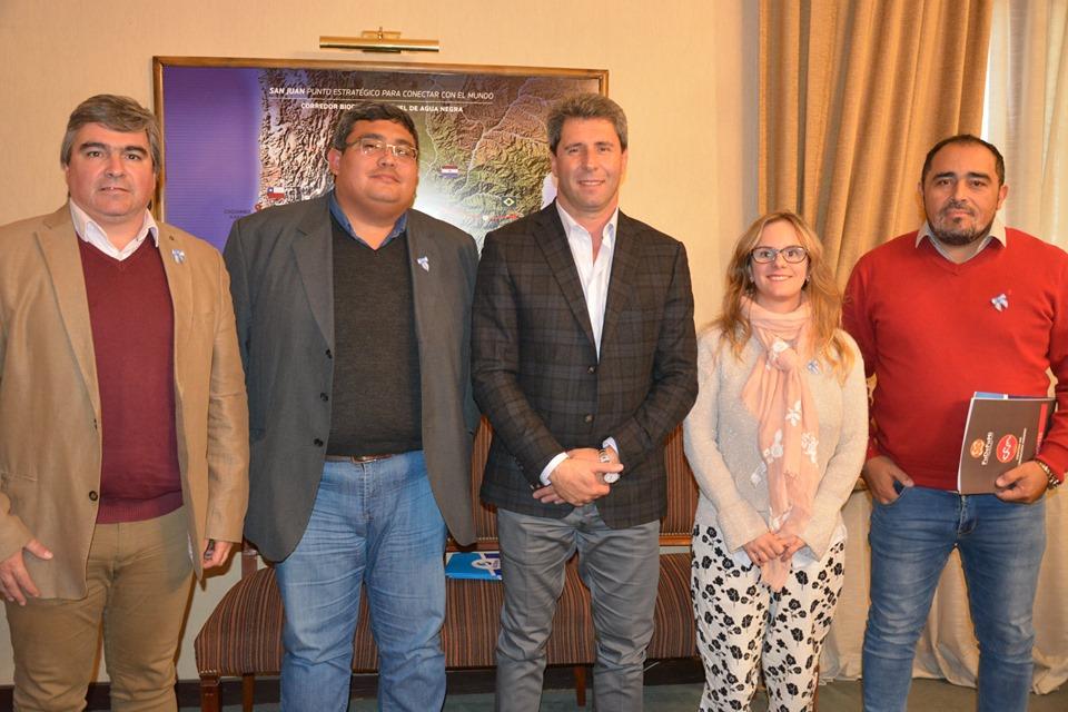 Reunión Institucional con el gobernador de la provincia de San Juan, Dr. Sergio Uñac.