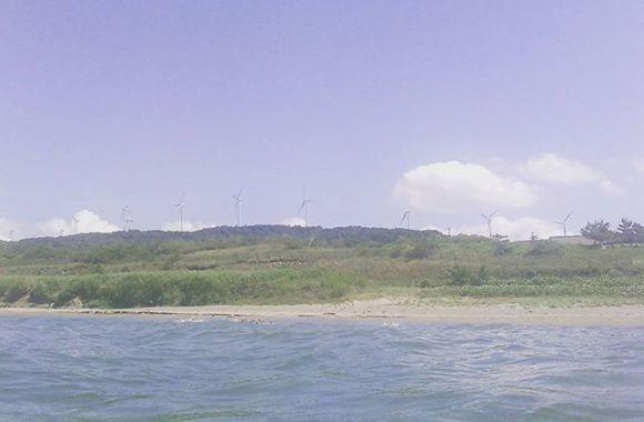 海面からの風車