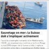 Photo tirée du site de l'OSAR. Source: Sea Watch