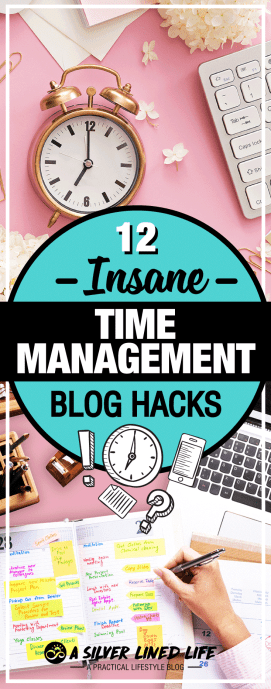 12 Insane Time Management Hacks For Bloggers - Mind blowing tips that work! For moms busy blogging at home, here is the perfect planner and schedule for you!! These 12 strategies include tools, techniques, a template and a worksheet that will help you succeed. This will be your #1 blog planner! Blogging for beginners or for money. Here are ideas to help you plan topics, tips to help with posts and inspiration to move you forward. #SLL