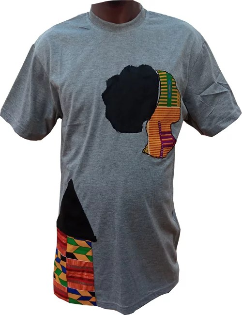 Ash African Design T-Shirt - Ladies portrait