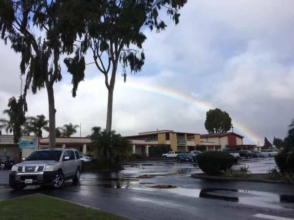 Rainbow at Concordia