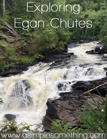 Exploring Egan Chutes in Bancroft, ON. This Ontario waterfall belongs on your bucket list!