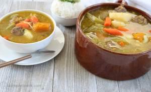 """Beef Soup """"Sopa de Carne de Res"""" Spanish Style"""