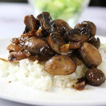 Mushroom in Adobo Sauce (Filipino-style)