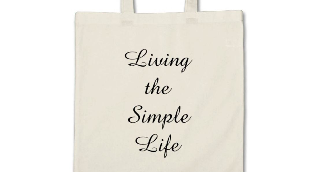 Living the Simple Live Tote