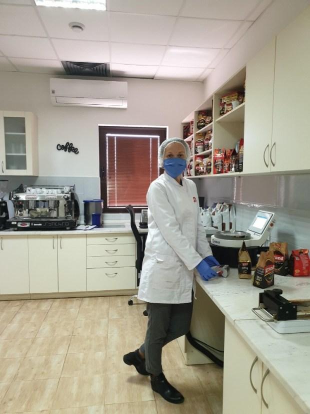 Maja Prodanović, tehnolog kvaliteta proizvodnog pogona Grand kafe