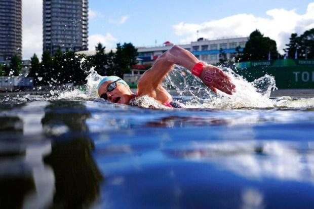 Detalj s maratona u plivanju u Tokiju, Foto: Tanjug/AP