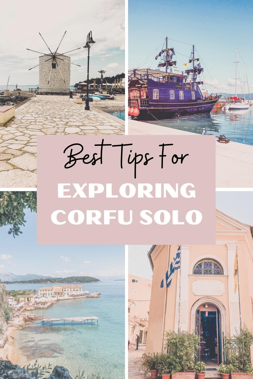 Solo Tips for Exploring Corfu