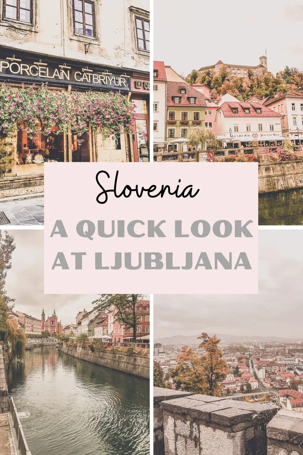 Ljubljana Safe Solo Adventure