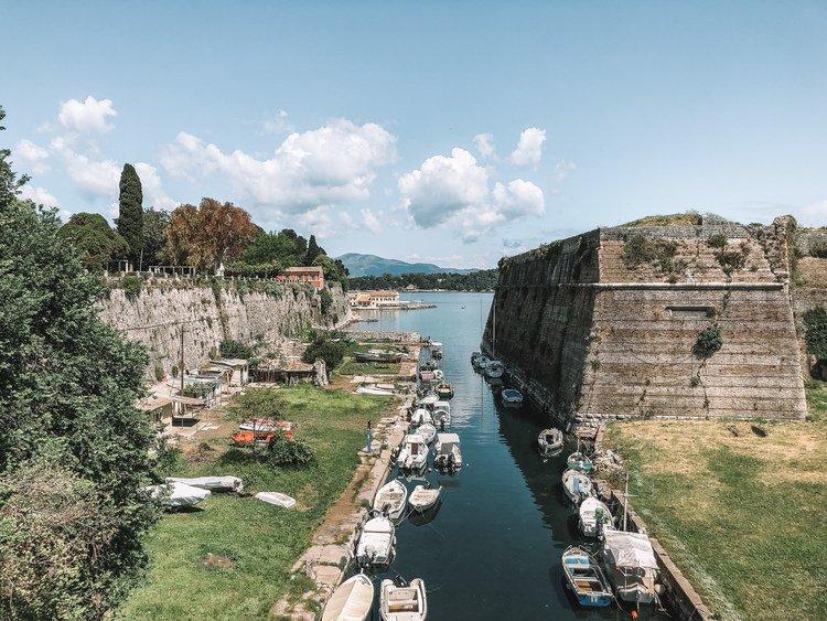 Corfu Greece Alone