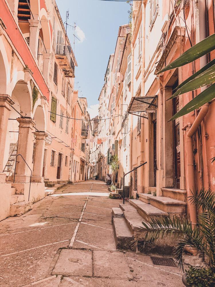 Solo Trips to Corfu, Greece