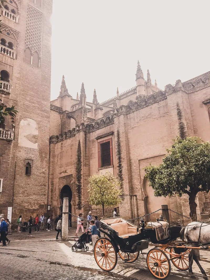 Best Places in Spain to Travel Alone   A view of Cathedral in Seville