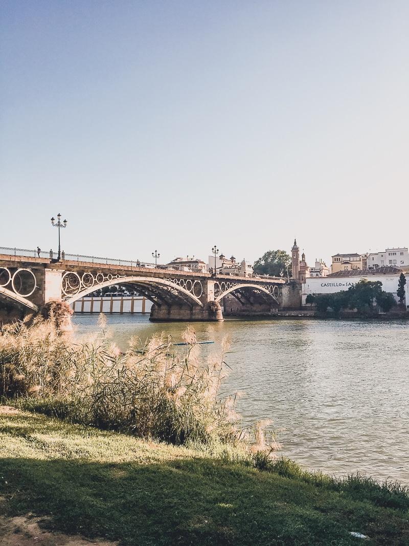 Seville Spain Bridge