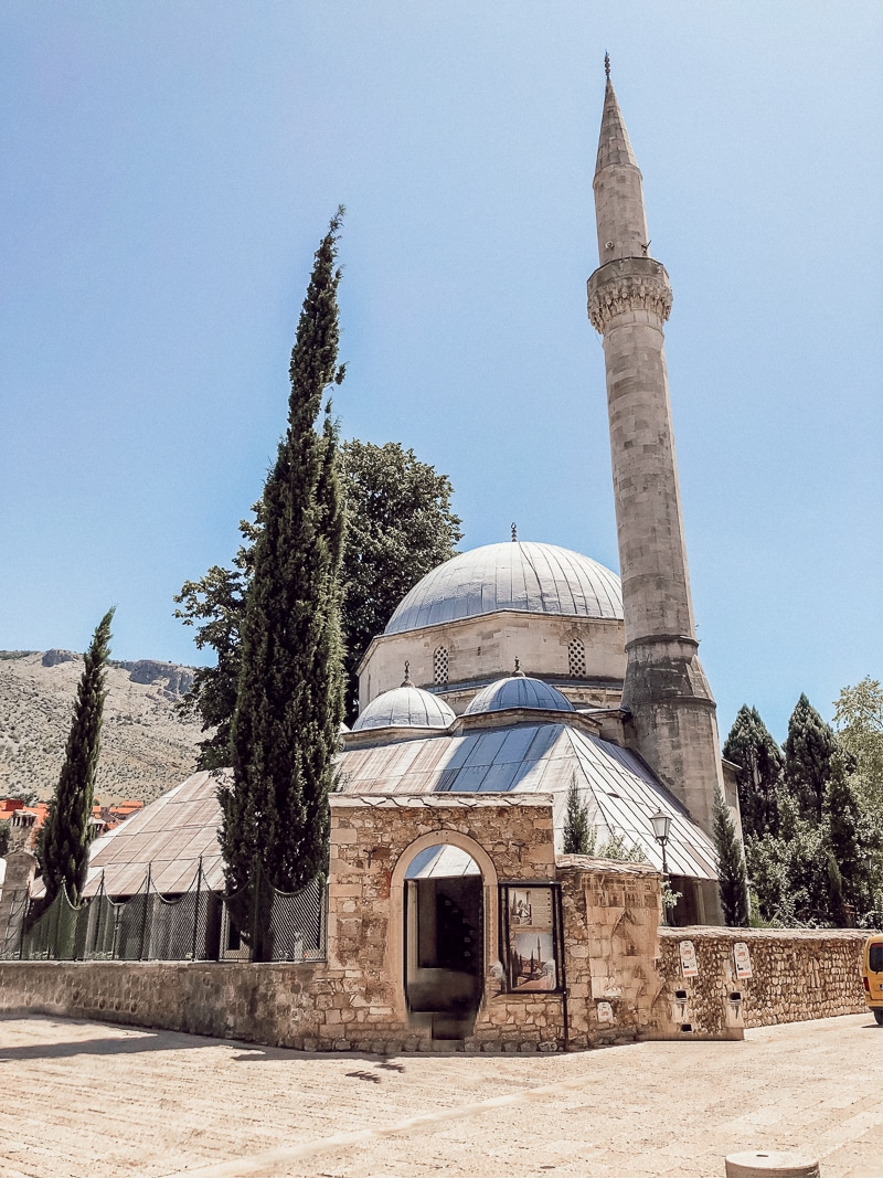 Temple in Mostar