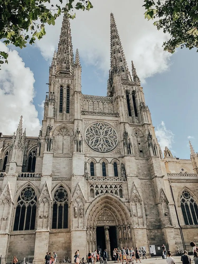 Cathedral in Bordeaux