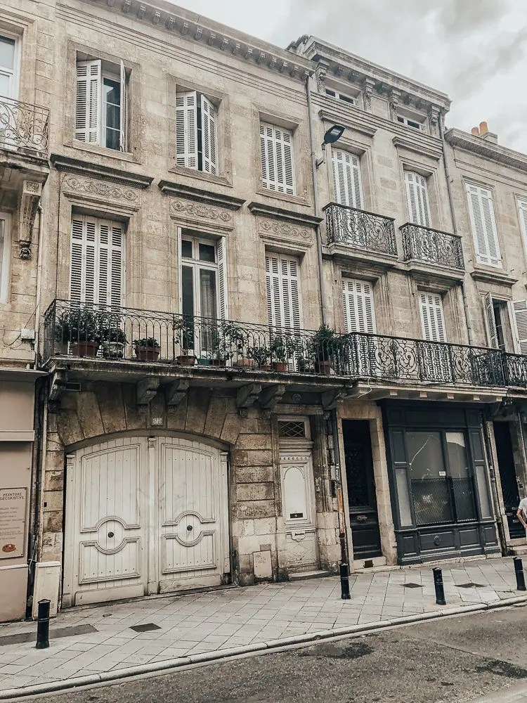 Beautiful Streets of Bordeaux France