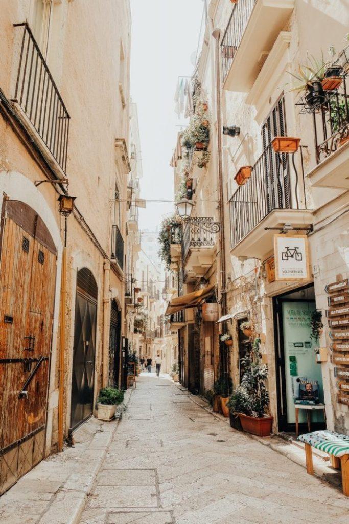 Streets of Bari