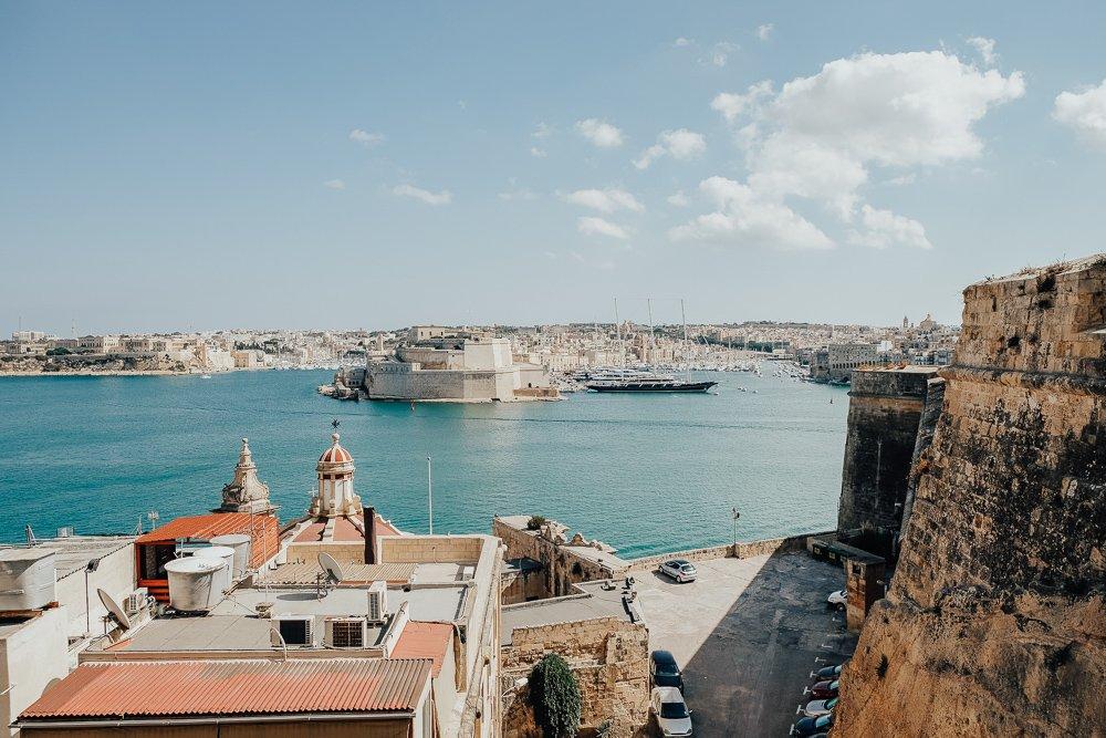 Views of Malta Three Cities