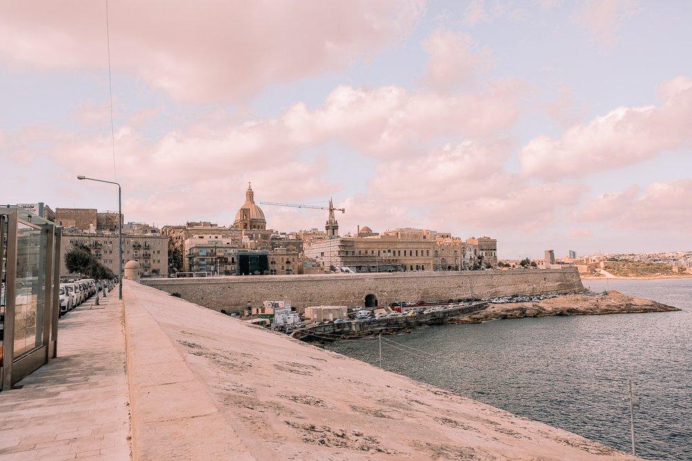Sunset Views of Valletta