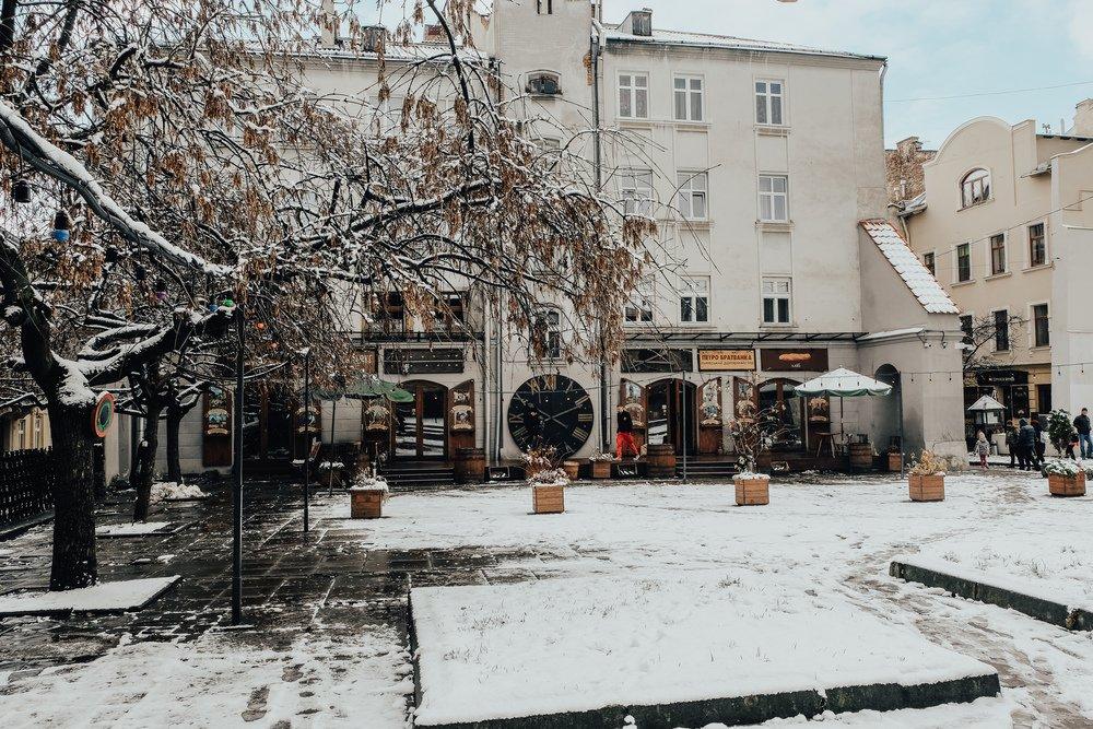 City center of Lviv