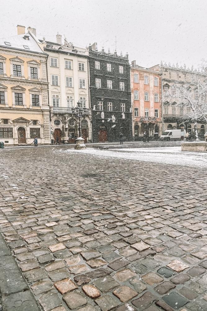 Lviv Old Town Center