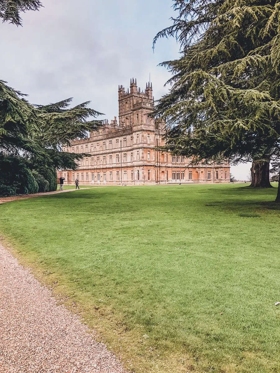 View of Highclere Castle