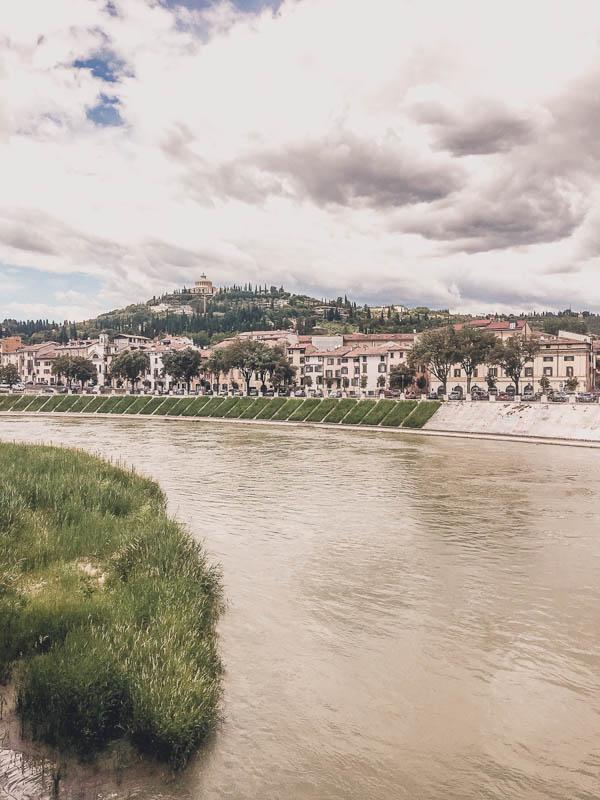 Adige River in Verona, Italy!