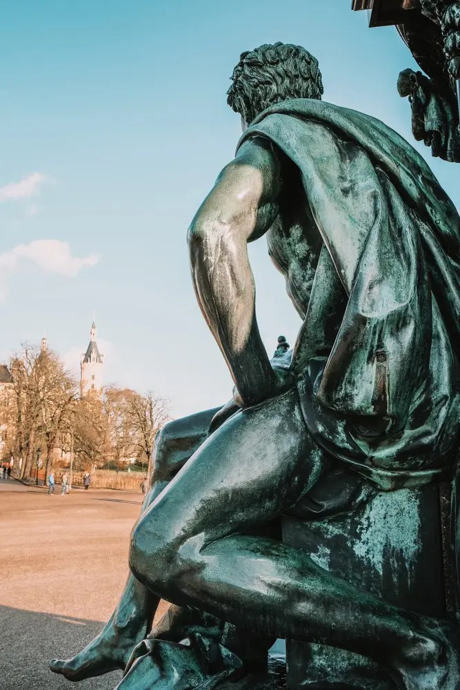 Statues at Schwerin Castle