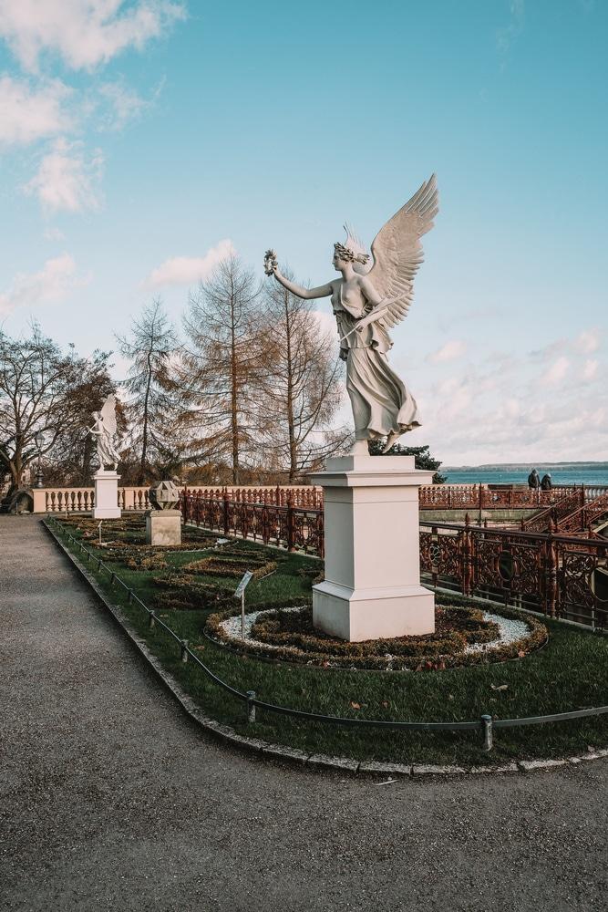 Schwerin Castle Statues