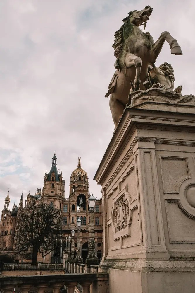 Entrance to Schwerin Castle