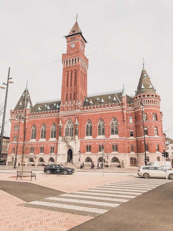 Helsing Sweden town hall