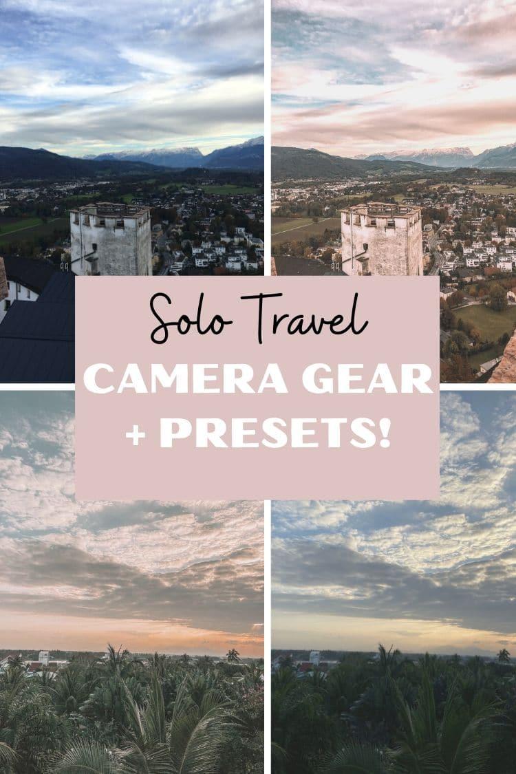 Solo Essential Camera Gear for Travel
