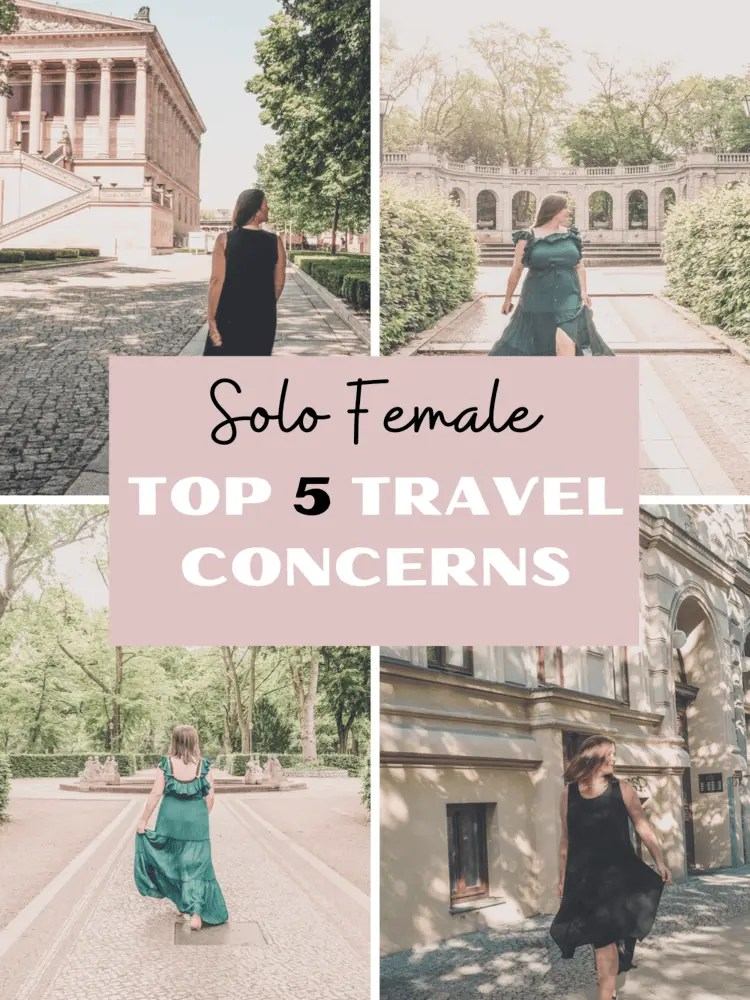 Solo Female Travel Concerns Pin