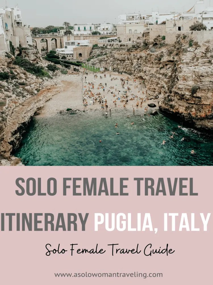 Solo Female Travel Guide for Italy