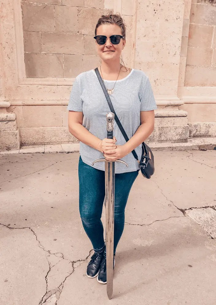 A Solo Woman Traveling in Dubrovnik